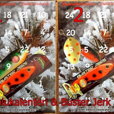 Jakki Joulukalenteri + Buster Jerk OB